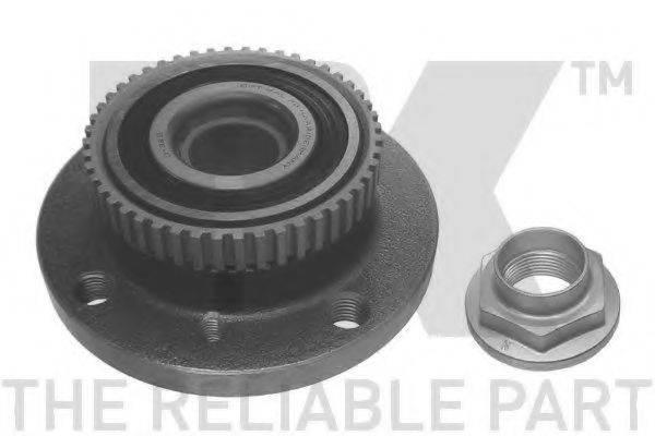 Комплект подшипника ступицы колеса NK 751506