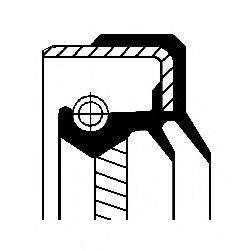 Уплотняющее кольцо, раздаточная коробка CORTECO 01034860B
