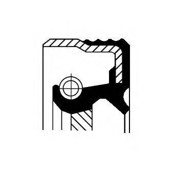 Уплотняющее кольцо, ступенчатая коробка передач; Уплотняющее кольцо вала, автоматическая коробка передач; Уплотняющее кольцо, вспомогательный привод; Уплотнительное кольцо, тормозная колодка; Уплотняющее кольцо вала, топливный насос высокого давления CORTECO 01016923B