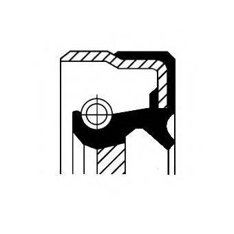 Уплотняющее кольцо, дифференциал CORTECO 01016886B