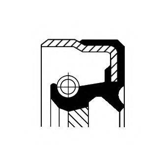 Уплотняющее кольцо, дифференциал CORTECO 01035179B