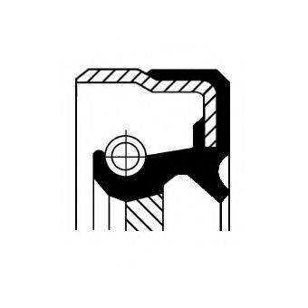 Уплотняющее кольцо, раздаточная коробка CORTECO 01036282B
