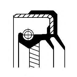 Уплотняющее кольцо, дифференциал; Уплотняющее кольцо, раздаточная коробка CORTECO 01035431B