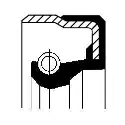 Уплотнительное кольцо CORTECO 01029658B