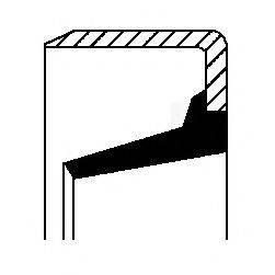 Зубчатый диск импульсного датчика, противобл. устр. CORTECO 01034759B