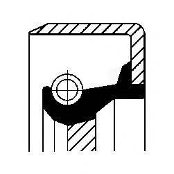 Уплотнительное кольцо CORTECO 01032057B