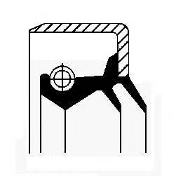 Уплотнительное кольцо CORTECO 01026135B