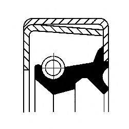 Уплотнительное кольцо CORTECO 01012016B