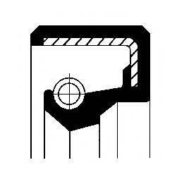 Уплотняющее кольцо, ступица колеса CORTECO 01000393B
