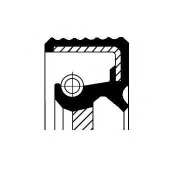 Уплотняющее кольцо, ступенчатая коробка передач; Уплотняющее кольцо, дифференциал; Уплотняющее кольцо, раздаточная коробка CORTECO 01034061B
