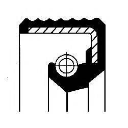 Уплотнительное кольцо CORTECO 01019953B