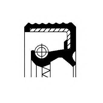 Уплотняющее кольцо, дифференциал CORTECO 01035161B