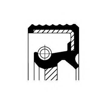 Уплотняющее кольцо, ступенчатая коробка передач CORTECO 01031967B
