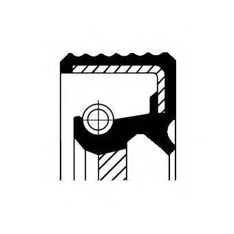 Уплотняющее кольцо, коленчатый вал CORTECO 20036188B