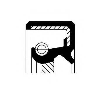 Уплотнительное кольцо CORTECO 01032123B