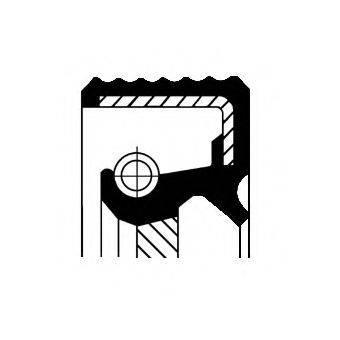 Уплотняющее кольцо вала, автоматическая коробка передач CORTECO 01033864B