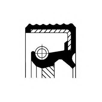 Уплотняющее кольцо, дифференциал CORTECO 01020537B