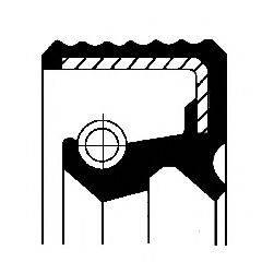 Уплотняющее кольцо, ступенчатая коробка передач CORTECO 01019451B