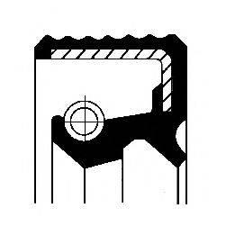 Уплотнительное кольцо CORTECO 01000521B