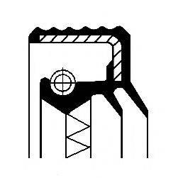 Уплотнительное кольцо CORTECO 01031607B