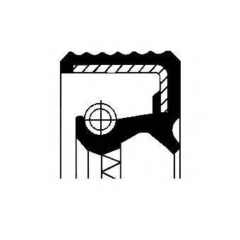 Уплотнительное кольцо CORTECO 01026398B