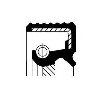 Уплотнительное кольцо CORTECO 01026884B