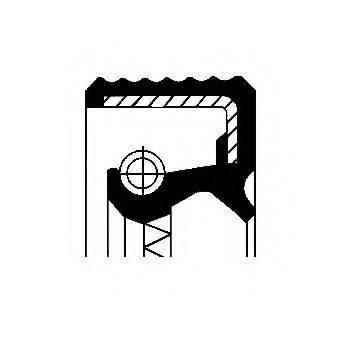 Уплотнительное кольцо CORTECO 01031231B