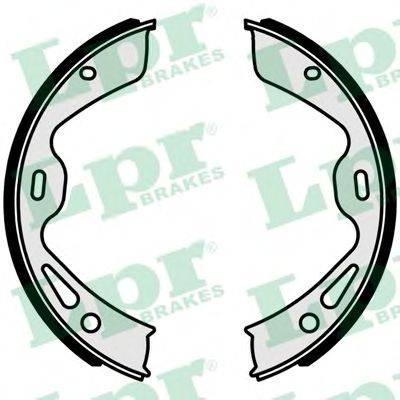 Комплект тормозных колодок, стояночная тормозная система LPR 01042