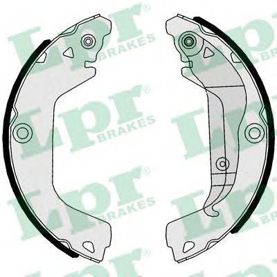 Комплект тормозных колодок LPR 01112