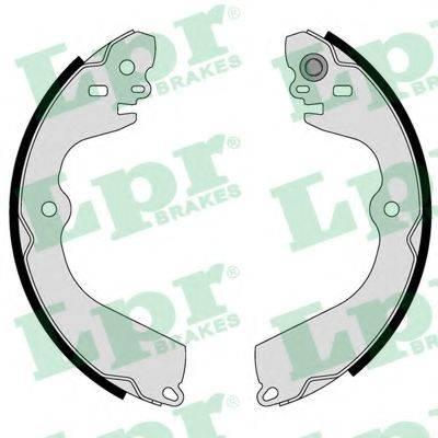 Комплект тормозных колодок LPR 01118