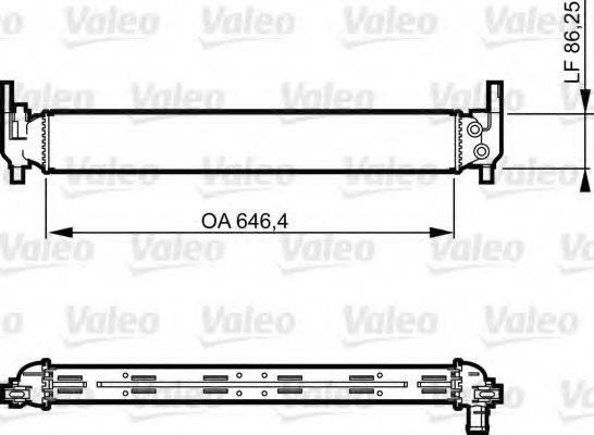 Радиатор, охлаждение двигателя VALEO 735310