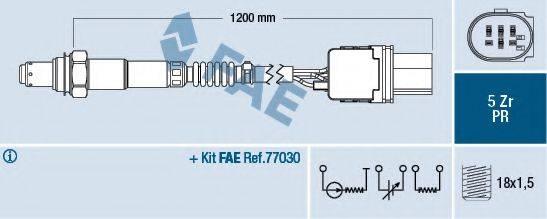 Лямбда-зонд FAE 75050