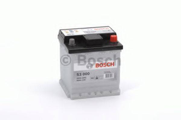 Стартерная аккумуляторная батарея; Стартерная аккумуляторная батарея BOSCH 0 092 S30 000