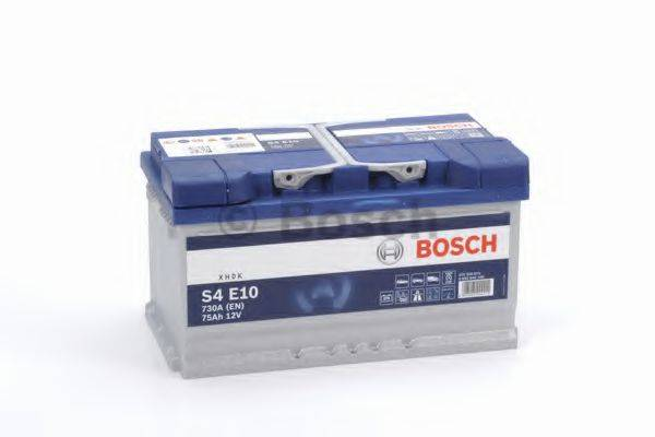 Стартерная аккумуляторная батарея; Стартерная аккумуляторная батарея BOSCH 0 092 S4E 100