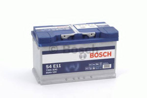 Стартерная аккумуляторная батарея; Стартерная аккумуляторная батарея BOSCH 0 092 S4E 110
