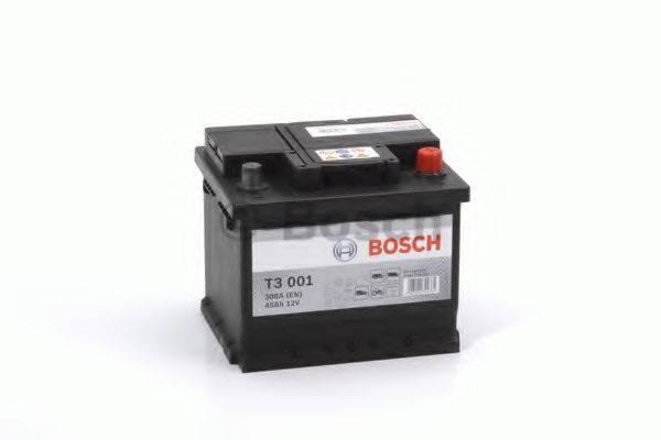 Стартерная аккумуляторная батарея; Стартерная аккумуляторная батарея BOSCH 0 092 T30 010