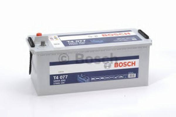 Стартерная аккумуляторная батарея; Стартерная аккумуляторная батарея BOSCH 0 092 T40 770