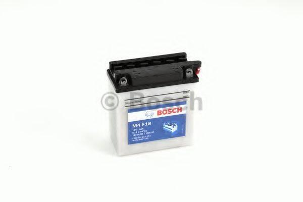 Стартерная аккумуляторная батарея; Стартерная аккумуляторная батарея BOSCH 0 092 M4F 180