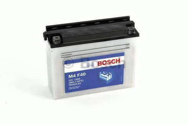 Стартерная аккумуляторная батарея; Стартерная аккумуляторная батарея BOSCH 0 092 M4F 400