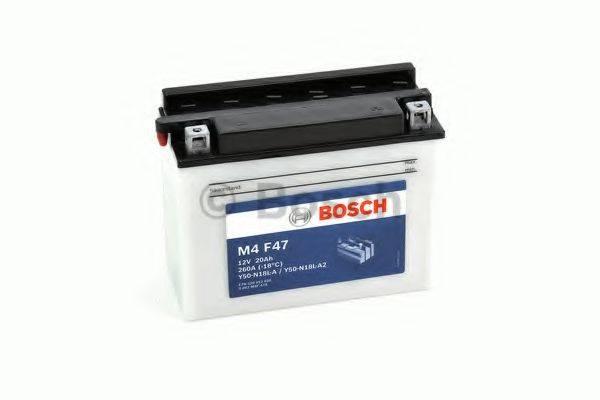 Стартерная аккумуляторная батарея; Стартерная аккумуляторная батарея BOSCH 0 092 M4F 470