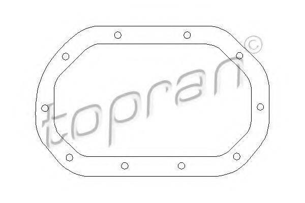 Прокладка, дифференциал TOPRAN 200 513