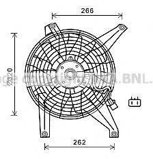 Вентилятор, охлаждение двигателя PRASCO MT7528