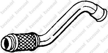 Труба выхлопного газа BOSAL 750-055