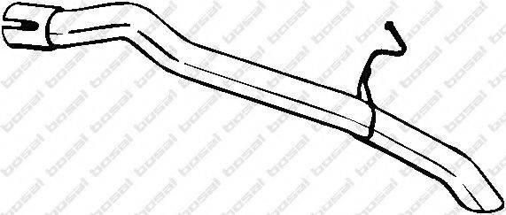 Труба выхлопного газа BOSAL 750-195