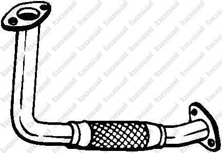 Труба выхлопного газа BOSAL 750-105