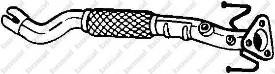 Труба выхлопного газа BOSAL 750-157