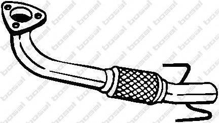 Труба выхлопного газа BOSAL 751-379