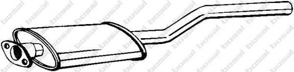 Предглушитель выхлопных газов BOSAL 200-363