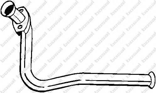 Труба выхлопного газа BOSAL 740-405