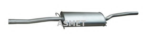 Средний глушитель выхлопных газов ASMET 01.081